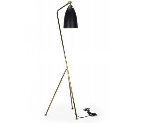 Grasshopper Floor Lamp Gold