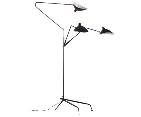 Three-Arm Floor Lamp