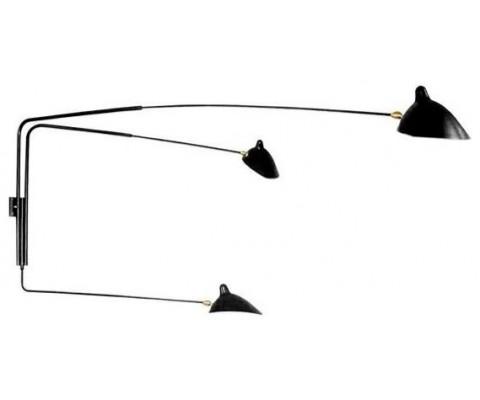 Three-Arm Wall Sconce